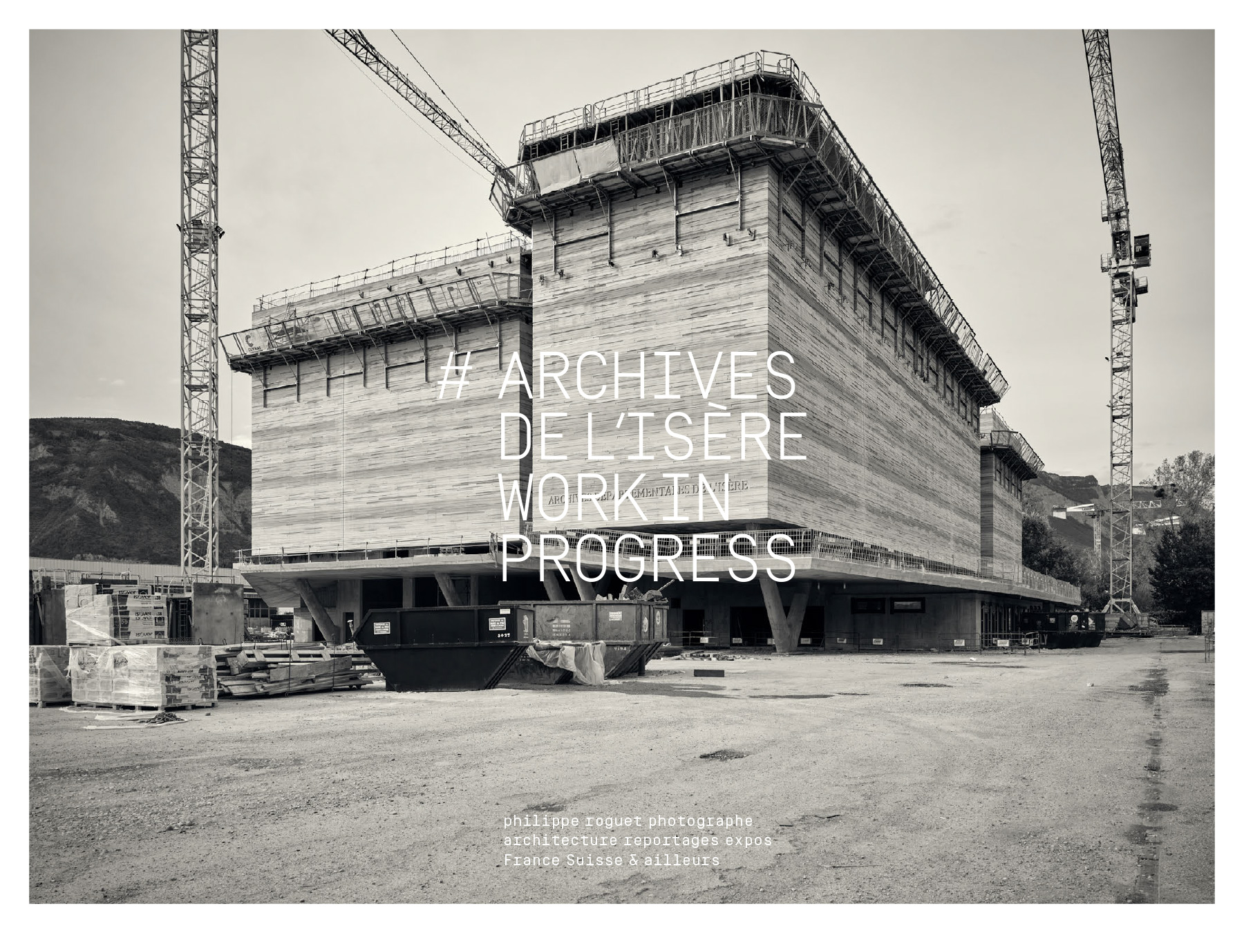 Archives de l'Isère-D3 architectes – CR&ON Architectes
